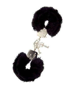 Наручники Dreamtoys Metal Handcuff with Plush Черные