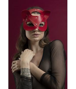 Маска кошки Feral Feelings Catwoman Mask красная