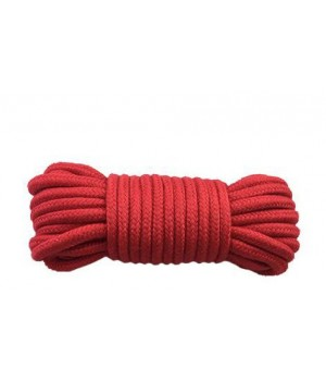 Веревка для бондажа sLash BONDAGE ROPE Красная