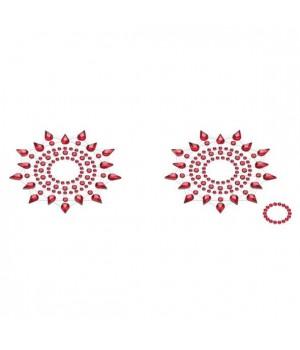 Пэстис из кристаллов Petits Joujoux Gloria set of 2 Красные