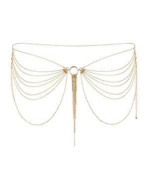 Цепочка трусики или лиф Bijoux Indiscrets MAGNIFIQUE Waist Chain Золотая