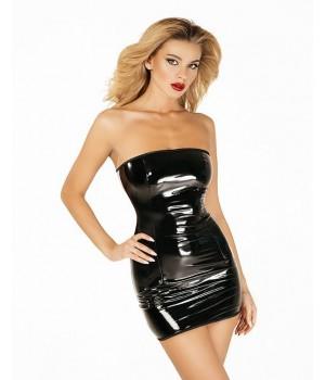 Платье лакированное D&A Соблазнительница Марго Черное XS/S