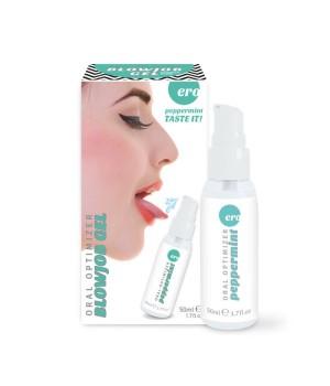 Стимулирующий оральный гель Hot Oral Optimizer Blowjob Gel Pepermint 50 мл