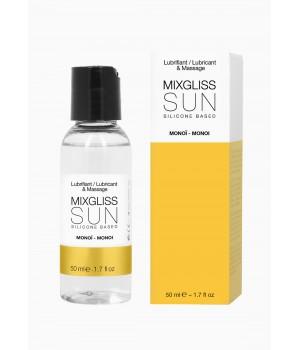 Лубрикант на силиконовой основе MixGliss Sun Monoi 50 мл