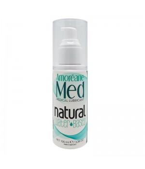 Смазка на водной основе с фитопланктоном Amoreane Med Natural 100 мл