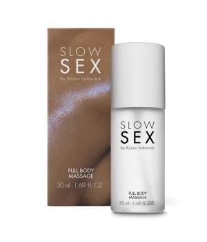 Гель-лубрикант для массажа всего тела Slow Sex by Bijoux Indiscrets FULL BODY MASSAGE