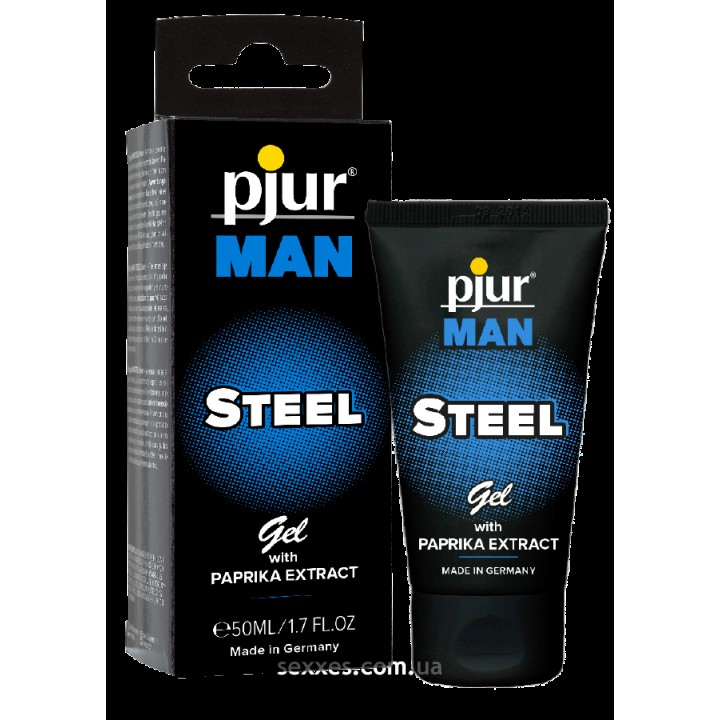 Гель для пениса массажный Pjur MAN Steel Gel 50 мл
