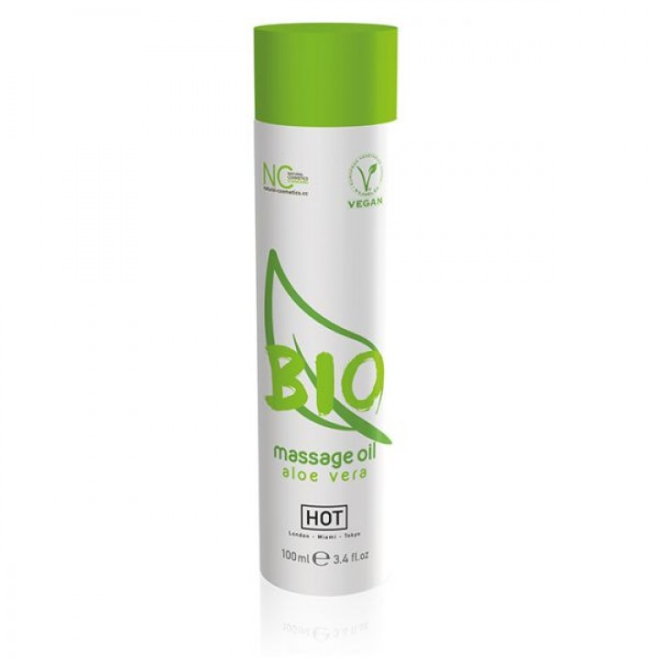 Массажное масло Hot Bio massage oil Aloe Vera 100 мл