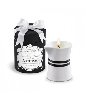 Массажная свечa Petits Joujoux Athens Musk and Patchouli 190 мл