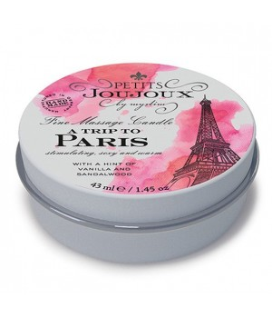 Массажная свечa Petits Joujoux Paris Vanilla and Sandalwood с афродизиаками 43 мл