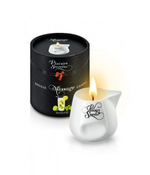 Массажная свеча Plaisirs Secrets с ароматом Мохито 80 мл