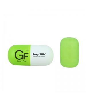 Мастурбатор Love To Love Sexy pills Green Feez