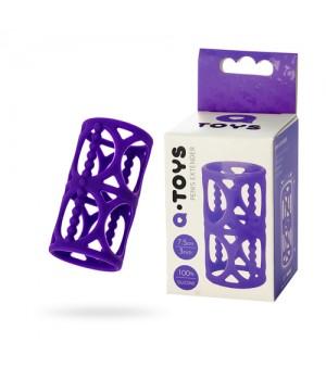 Насадка на пенис Toyfa A-TOYS 768003 Фиолетовая
