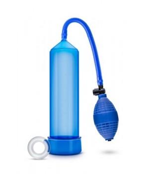 Вакуумная помпа Blush Vx101 Male Enhancement Pump Голубая
