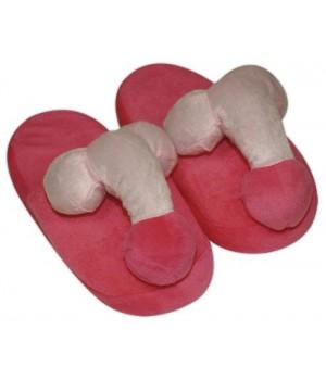 Домашние тапочки Orion Penis Pink