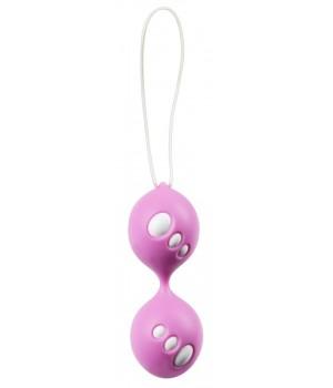 Вагинальные шарики You2Toys Twin Balls Розовые