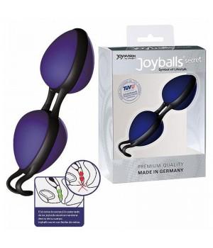 Вагинальные шарики Joydivision Joyballs secret Голубой/Черный