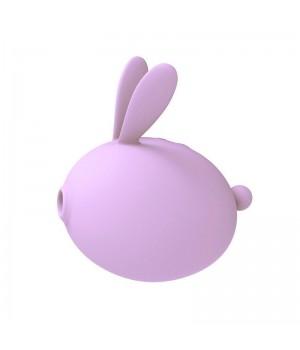 Вакуумный стимулятор с вибрацией KissToy Miss KK Фиолетовый
