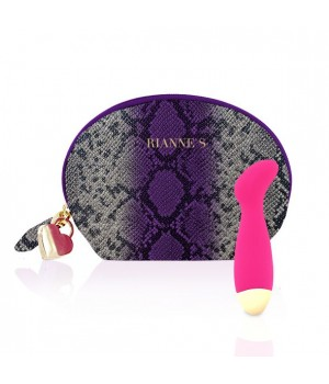 Вибратор для точки G Rianne S: Boa Mini Розовый, 10 режимов работы