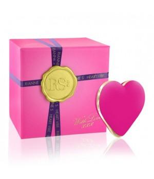 Вибратор-сердечко Rianne S: Heart Vibe Розовый, 10 режимов работы